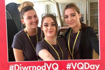 VQ day beauty students