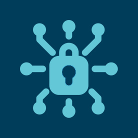 Cyber padlock icon