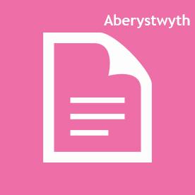 Aberystwyth icon Pink