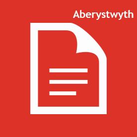Aberystwyth icon red