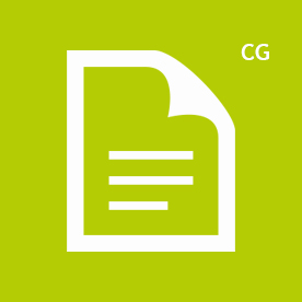 CG icon green