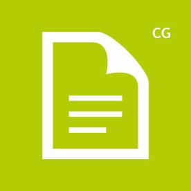 CG icon green