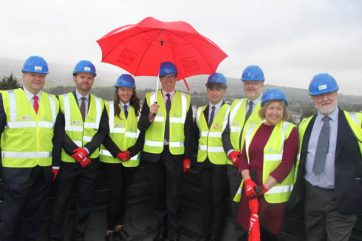 TLZ topping out