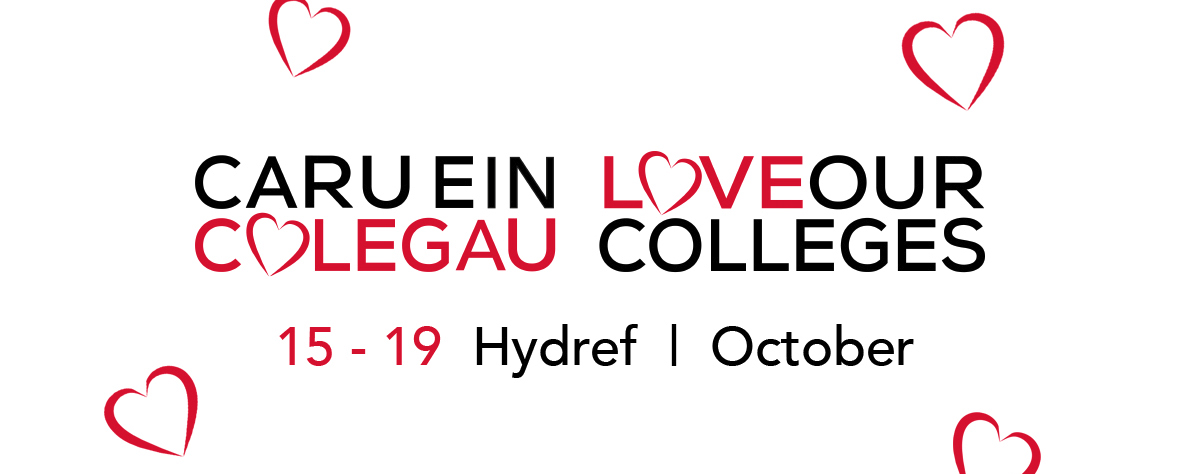 love our colleges banner