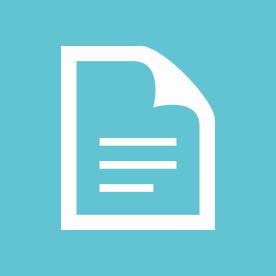 document icon on cyan background