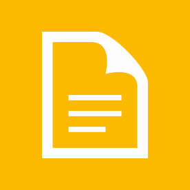 document icon on yellow background