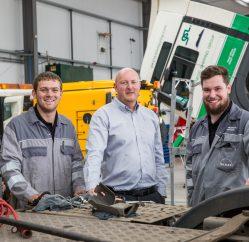 Coleg Gwent Motor Apprentices