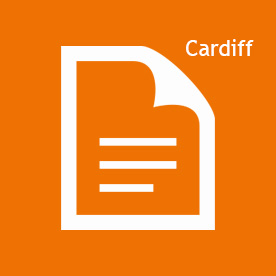 Cardiff icon orange