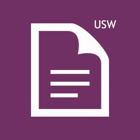 USW icon purple