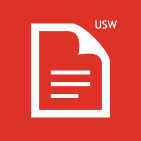 USW icon red