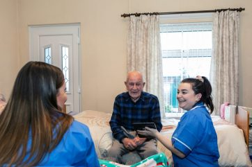 Coleg Gwent Care students