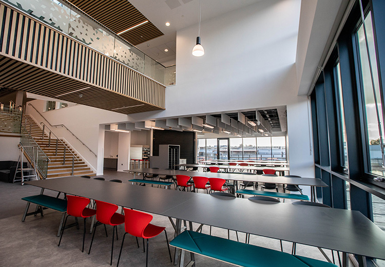 Torfaen Learning Zone canteen
