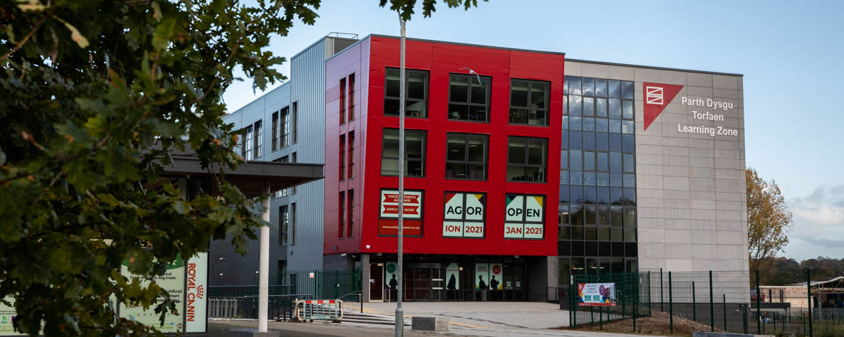 Torfaen Learning Zone building