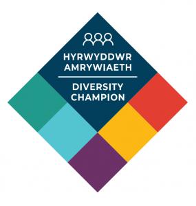 Diversity Champion badge design