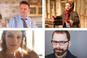 Welsh Playwrights - Tracy Harris, Richard Harrington, Gareth John Bale and Owen Thomas