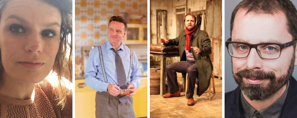 Welsh Playwrights - Tracy Harris, Richard Harrington, Gareth John Bale and Owen Thomas