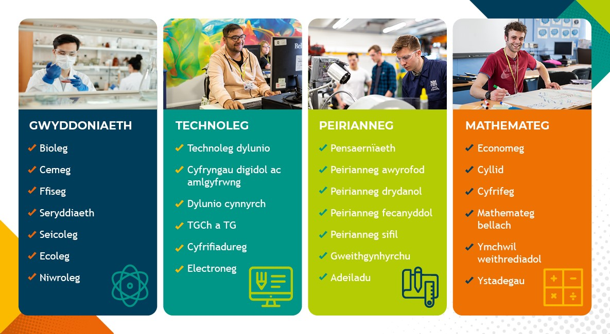 Science, Technology, Engineering and Mathematics subjects