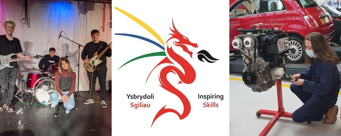 Dysgwyr yn ennill 24 medal yng Nghystadleuaeth Sgiliau Cymru 2021