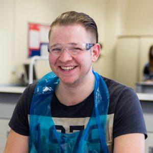 Learner Paul Davies smiling