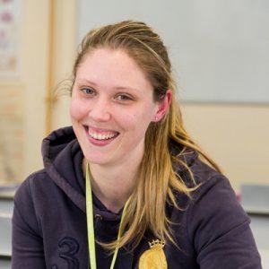 Learner Rosalind Spooner smiling