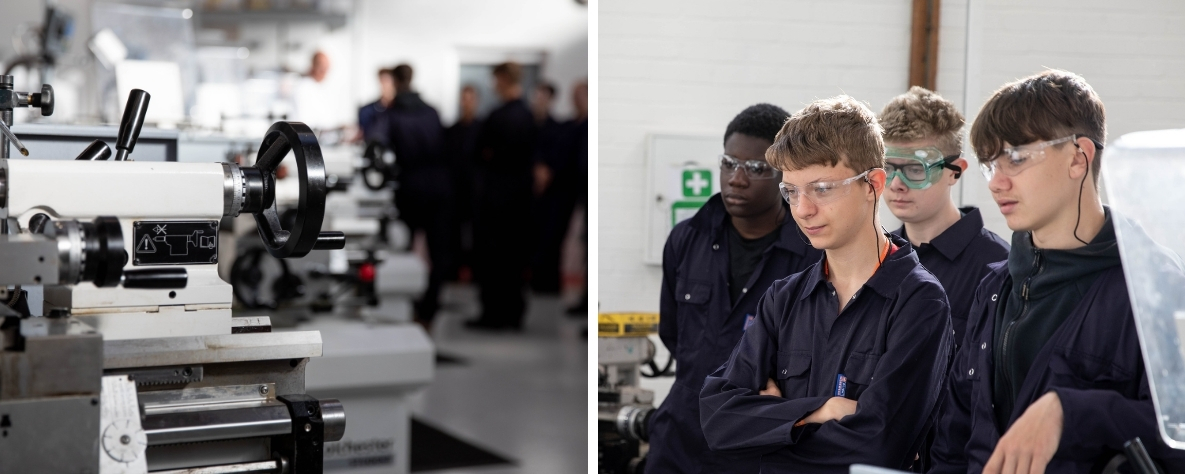 engineering learners and equipment