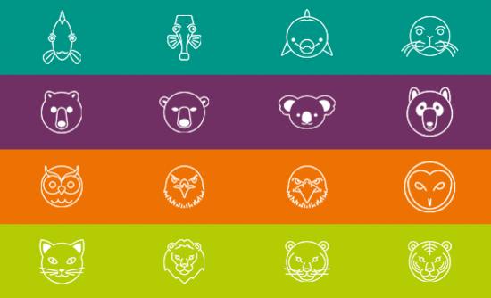 Buzz Quiz animal icons